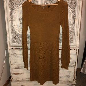 Knitted & Knotted Anthropologie sweater dress Sz m